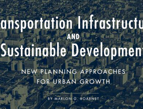 Transportation Infrastructure And Sustainable Development: New Planning Approaches For Urban Growth