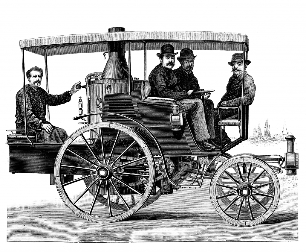 Four Guys Steam Car