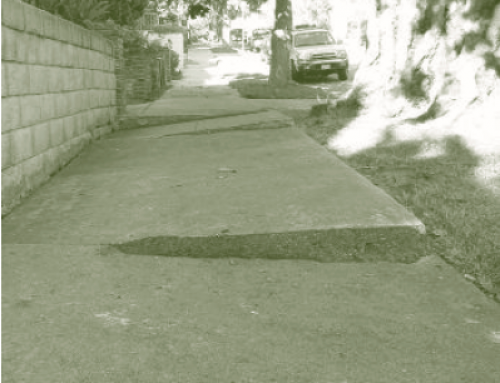 Fixing Broken Sidewalks