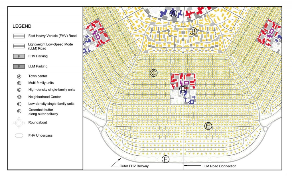 Figure 3. Plan of Neighborhood Branch